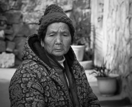 old woman-